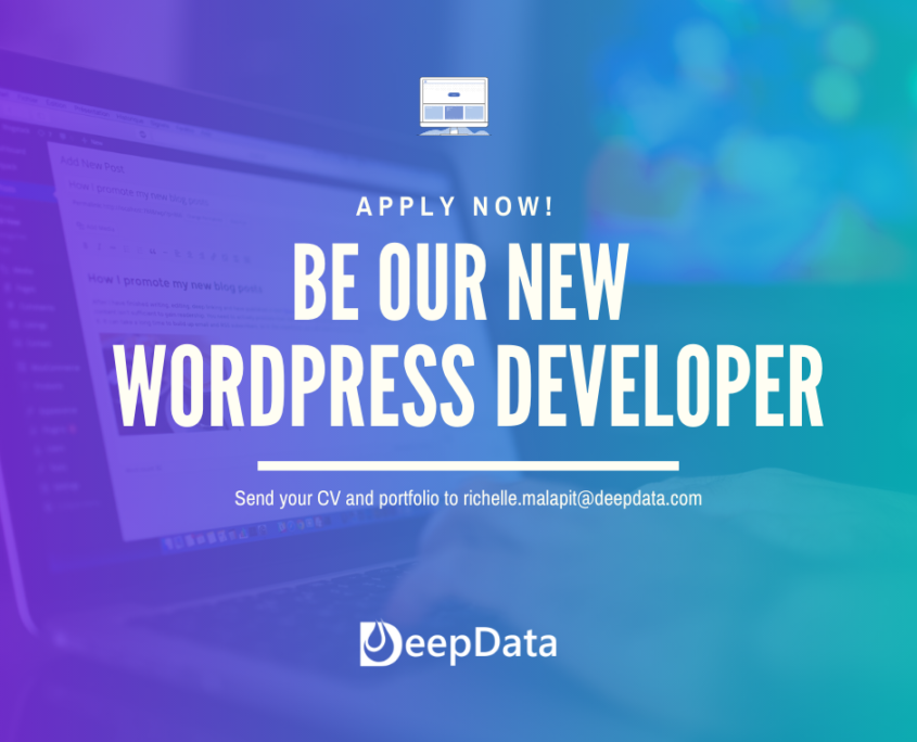 Be our new wordpress developer